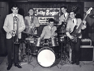 Charlie McCoy and the Escorts, Wayne Butler, Jerry Tuttle, Kenny Buttrey, Mac Gayden, and Charlie McCoy.jpg